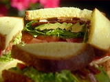 Emerils Kicked-Up B.L.T. Sandwiches with Avocado and Chipotle Mayonnaise