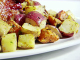 Mixed Roasted Potatoes with Herb Butter