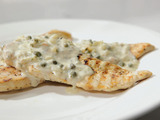 Grilled Chicken with Creamy Caper Sauce