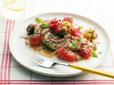 Grilled Chicken Breast with Marinated Cherry Tomato Salad