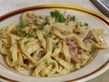 Pancetta Bacon Pasta