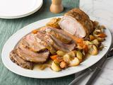 Roast Pork Loin with Apples