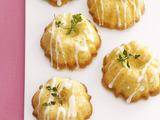 Mini Olive Oil Cakes with Lemon Glaze