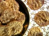 Ginger-Lemon Oatmeal Cookies