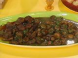 3 Tasty Tapas: Sherry-Garlic Beef, Sherry-Garlic Mushrooms, Grilled Chorizo