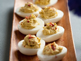 4-Pepper Deviled Eggs