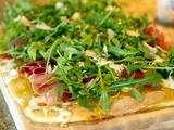 Fig-Prosciutto Pizza with Arugula