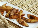 "Baked Sweet Potato ""Fries"" with La Boite Spice Mix"