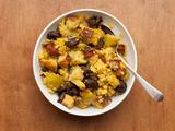 Cornbread Dressing with Pancetta, Apples, and Mushrooms