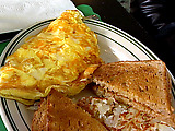 Three Cheese Omelette