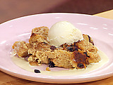 New Orleans Style Bread Pudding with Whiskey Sauce