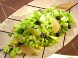 Celery, Grapefruit and Olive Salad