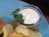 Potato Chips with Chica Comfort Sauce