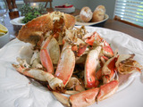 "Oven-Roasted Crab ""Buon Natale"""