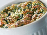 Online Round 2 Recipe - Spinach and Cheese Souffle