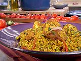 Adobo Seasoned Chicken and Rice