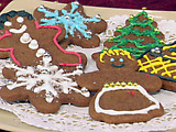Throwdown Gingerbread Cookies