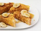 Cornflake-Crusted French Toast With Bananas