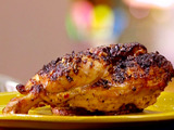 Grilled Chicken with Dijon and Meyer Lemon