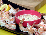 Shrimp Cocktail with Rach's Quick Remoulade