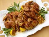 Butterflied Cornish Hens with Sage Butter