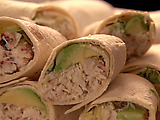 Tuna and Crab Wraps/Crab and Avocado Wraps