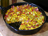 Tortilla with Chorizo