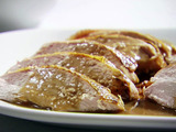 Roasted Turkey Breast with Spicy Herb Oil