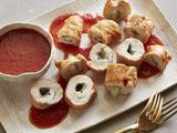 Chicken Scallopine with Sage and Fontina Cheese