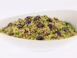 Quinoa and Purple Potato Salad