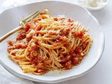 Linguine with Chicken Ragu