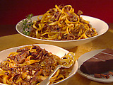 Short Ribs with Tagliatelle