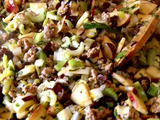 Cranberry, Apple and Sausage Stuffing