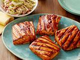 Sweet and Spicy Grilled Salmon