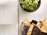 Guacamole With Cumin-Dusted Tortilla Chips