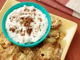 French Onion Dip with Gruyere Toasts
