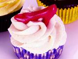 Dorothy's Applesauce Cupcake with Cinnamon Goat Cheese Frosting