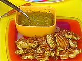 Rachael's Chimichurri Chicken Bites