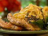 Fettuccine Chicken Salad