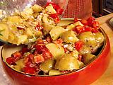 Warm Potato-Tomato Salad with Dijon Vinaigrette