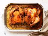 Lemon-Pepper Roast Chicken