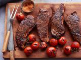 Strip Steak With Spiced Salt