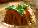Mini Pumpkin Spice Cakes with Orange Glaze
