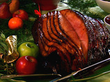 Smoked Ham with Sweet Holiday Glaze