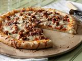 Sausage and Mushroom Stuffed Crust Pizza
