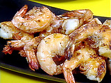 Grilled Shrimp Cocktail with Horseradish Cream Dipping Sauce