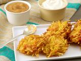 Quick Potato and Carrot Latkes