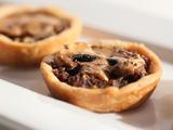 Mushroom Walnut Tarts
