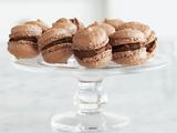 Chocolate-Hazelnut Macaroons
