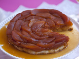 Salted Caramel Apple Tart Tatin